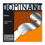 Thomastik-Infeld 135BST Dominant Violin Strings Complete Set Stark Tension 4/4 Size with Chrome Steel Ball End E String