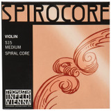Thomastik Infeld S15 Spirocore Violin Strings, Complete Set, 4/4 Size, Spiral Core, Aluminum Wound E String