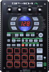 Roland SP-404A Linear Wave Sampler with Pattern Sequencer, 12 Performance Pads, 3 Control Knobs, Sub Pad, 29 Onboard DSP Effects and Built-in Microphone