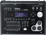 Roland TD-30 Drum Sound Module with SuperNATURAL Sound Engine, 100 Drum Kits, Behavior Modeling, Graphic LCD Display and USB