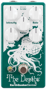 EarthQuaker Devices The Depths V2 Optical Vibe Machine Guitar Effects Pedal