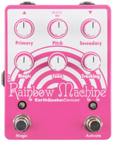 EarthQuaker Devices Rainbow Machine V2 Polyphonic Pitch shifting Modulator Guitar Pedal with Secondary, Pitch, Primary, Magic, Tone and Tracking Controls