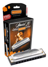 Hohner 560BX-C Special 20 Diatonic 10 Hole Harmonica - Major C