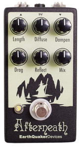 EarthQuaker Devices Afterneath V2 Reverberation Otherworldy Guitar Effects Pedal