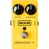 MXR M104 Distortion + Distortion Pedal with Distortion and Output Controls, Footswitch and On/Off LED Indicator