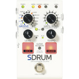 DigiTech SDRUM Auto-drummer Pedal Stompbox-sized Drum Machine with Automatic Accompaniment Creation