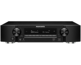 Marantz NR1609 Ultra-Slim 7.2CH 50W 4K Bluetooth & AirPlay2 Network AV Receiver with Heos wireless multi-room audio technology and Intelligent ECO mode with off/on/auto setting