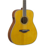 Yamaha FG-TA - Vintage Tint 6 string Acoustic electric Guitar with Sitka Spruce Top, Mahogany Back and Trans Acoustic Technology in Vintage Tint