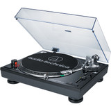 Audio Technica AT-LP120BK-USB Direct-Drive Professional Turntable (USB & Analog) with Mac- and PC-compatible & Audacity software - Black