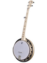 Deering Goodtime Left-Handed 5 String Banjo with Three ply maple rim