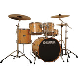 Yamaha SBP2F50NW Stage Custom Birch Acoustic Shell Pack 5-Piece Drum Set - Natural Wood