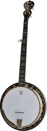 Deering Deluxe Maple 5 String Banjo with Resonator