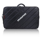 MONO M80-TOUR-V2-BLK Padded Pedalboard Case Accessory Case with Handle and Shoulder Strap in Black