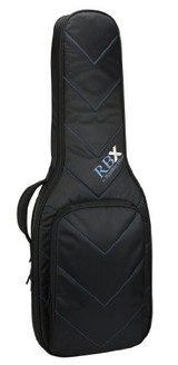 Reunion Blues RBXE1 RBX Electric Guitar Bag with Zero-G handle Rugged, water resistant Quilted Chevron exterior and Limited Lifetime Warranty