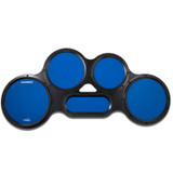 Ahead AHCTPB Chavez S-Hoop Tenor Pad in Blue with Improves technique without ear damaging volume
