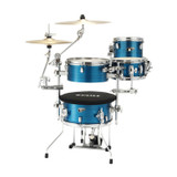 Tama Cocktail Jam Mini 4-piece Cocktail Mini Drum Kit Shell Pack with Hardware and Bag - Hairline Blue