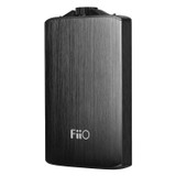 FiiO A3 Portable Headphone Amplifier with 1400 mAh Battery and USB Power Cable - Black