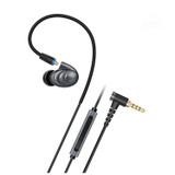 FiiO F9 PRO Triple Driver Hybrid In Ear Headphone Monitor with Mic and Remote - Titanium