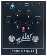 Aguilar Tone Hammer Bass Preamp Direct Box Effect Pedal with Overdrive and 3 Band EQ