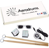Aerodrums Air Drumming Portable, Flexible and Extensible, High Sound Percussion Instrument