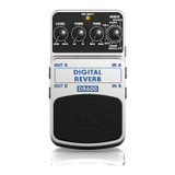 Behringer DR600 Digital Reverb Pedal with 6 Reverb Models, Stereo Inputs and Stereo Outputs
