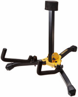 Hercules GS401BB Mini Acoustic Stand with Bag with built in locking pins and Includes SFF rubber to protect your guitar's finish
