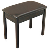 On Stage KB8802R Padded Wooden Bench for Keyboard and Piano