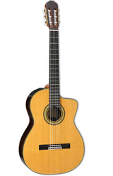 Takamine 132S Concert Classic 6 String Acoustic Guitar with Solid Cedar Top and Rosewood Finger Board  - Natural Gloss