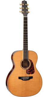 Takamine CP7MO 6 Strings Thermal Top Acoustic Guitar with Solid Thermal Spruce and TLD-2 Electronics - Natural