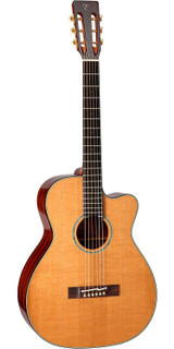 Takamine EF740FS TT 6 Strings Acoustic Electric Guitar with Hard Case, Thermal Spruce Top, Sapele Back/Sides and and TLD-2 Electronics - Natural