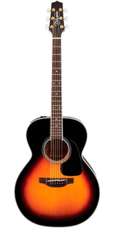 Takamine P6N Pro Series 6 NEX 6 String Acoustic Electric Guitar with Solid Spruce Top and CTP-3 CoolTube Preamp - Sunburst