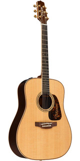 Takamine P7D Pro Series Dreadnought 6 Strings Acoustic Electric Guitar with CTP-3 Cool Tube Preamp System with 3-Band EQ - Natural