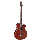 Takamine PB5 ANS 4 Strings Acoustic Electric Bass Guitar with CT4-DX Electronics - Gloss Aged Natural Stain