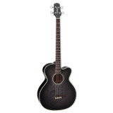 Takamine PB5 SBL Pro Series 4 Strings Acoustic Guitar with Maple Back & Sides and CT4-DX Electronics - See Thru Black
