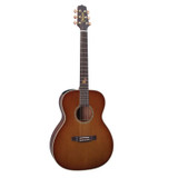 Takamine TF77PT 6-string Acoustic-electric Guitar with a Solid Cedar Top, Solid Koa Back and Sides and CTP-2 Preamplifier - Natural