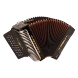 Hohner Corona II XTREME FBbEb with Bag and Starp in Jet Black