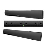 Definitive Technology XTR-SSA3 Ultra Slim LCR Passive 3-Channel Home Theater Sound Bar System (Pack of 3) - Black