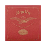Aquila 89U Baritone Ukulele String Set Normal DGBE Tuning - Red