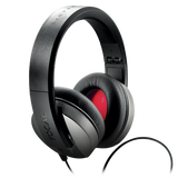 Focal Clear Professional Open-back Circumaural Reference Studio Headphones with Vented Memory Foam and Microfiber Earcups and Headband - Black/Red