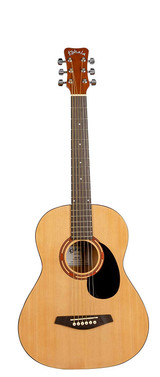 Kohala KG75S 3/4 Size 6 Steel String Acoustic Guitar w/ Bag and Adjustable Truss Rod for Maximum Playability