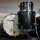 Sonor sQ1 3-Piece Shell Pack with 22 in. Bass Drum - GT Black