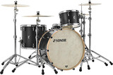 Sonor SQ1 3-Piece Shell Pack with 24 in. Bass Drum - GT Black
