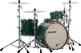 Sonor SQ1 3-Piece Shell Pack with 24 in. Bass Drum - Roadster Green