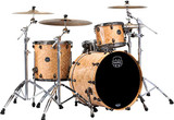 Mapex Saturn V MH Exotic 3-Piece Rock Shell Pack - Natural Maple Burl