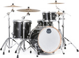 Mapex Saturn V Tour 22 3-piece Shell Pack - Black Pearl