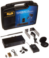 CAD Audio StageSelectIEM In-Ear Audio Monitor System with 16 Channel UHF Agility and MEB2 TruPitch Dual Armature Ear Buds