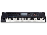 Yamaha MODX7 76-Key Weighted Action Synthesizer with Motion & Super Knob Controls and 4-Part Seamless Sound Switching