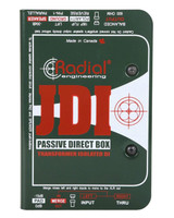 Radial JDI - Jensen Equipped 1 Channel Passive Mono Instrument Direct Box with Jensen Transformer and Rugged