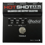 Radial Engineering HotShot ABO Line Output Selector with Toggle Switch for One Push Operation