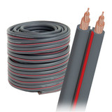 AudioQuest X-2 Bulk Speaker Cable - 14 AWG 30' (9m) Spool - Gray Jacket